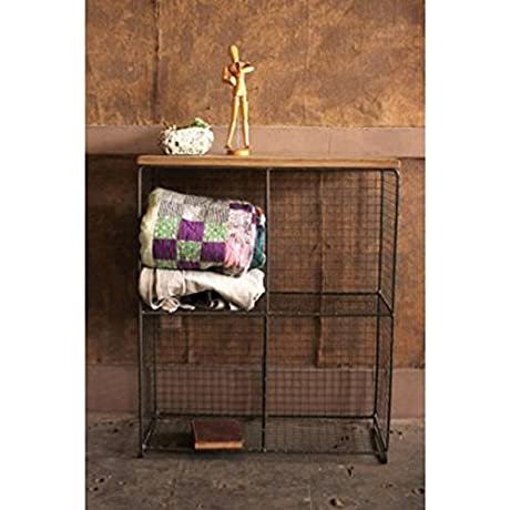 Wire 4 Cubby Console