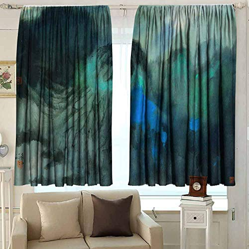 YEYUXIANGLAN Indo Curtains/Drapes Microfiber Boys Room Curtains 42