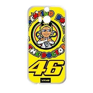 HTC One M8 Phone Case White Valentino Rossi F5951016