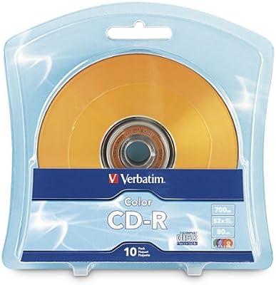 Verbatim CD-R 10 Pack - CD-RW vírgenes: Amazon.es: Informática