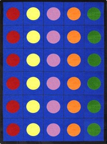 Educational Lots of Dots Kids Rug Rug Größe  5'4 x 7'8 by Joy Carpets