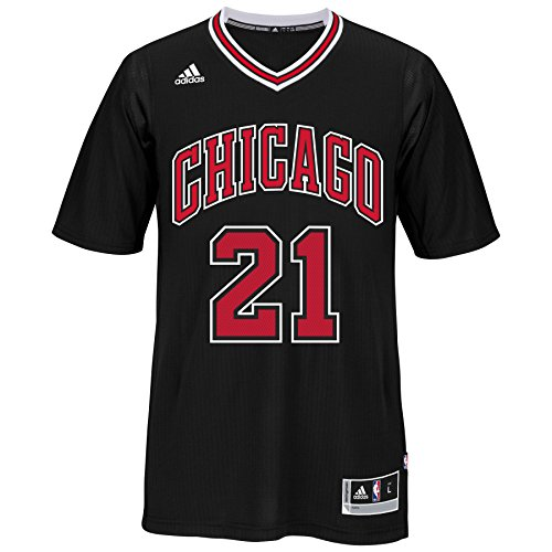 Chicago Bulls Jimmy Butler #21 Swingman Jersey NBA Adidas Official Black Stitched (X-Large) (Swingman Jersey Stitched)
