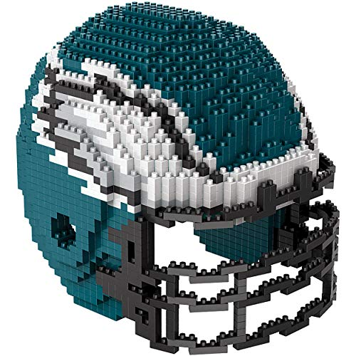 NFL Philadelphia Eagles Brxlz 3D Helmet Construction Puzzle ()