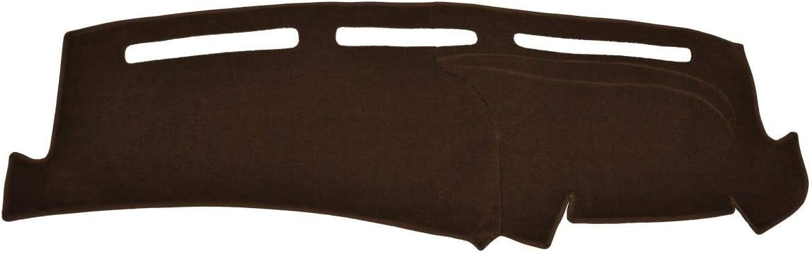 Seat Covers Unlimited GMC Pick-Up Full Size Dash Cover Mat Pad - Fits 1973-1980 (Custom Carpet Brown)