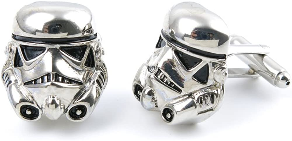 Cufflinks Cuff Links 03581 Star Wars Darth Vader Mens Vintage Gift for Tuxedo Shirts Wedding Party