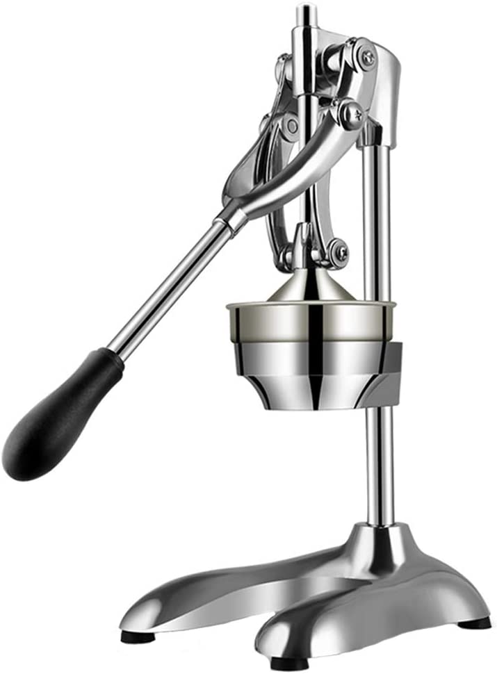 Stainless Steel Manual Lever Juicer, Large Countertop Juicer Press Suitable for Juice Shop Restaurants and Various Places Where Juice Is Needed, Easy To Clean