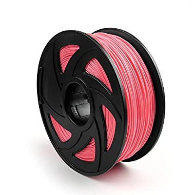 Areyourshop ABS 3D Printer Filament 1.75 mm,1kg Spool 2.2lbs, Dimensional Accuracy +/- 0.03mm,for 3D Printers,3D printing Pen Pink
