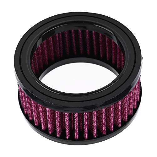 Suuone Air Filter, Motorcycle Air Filter Element Air Filter Replacement Universal: