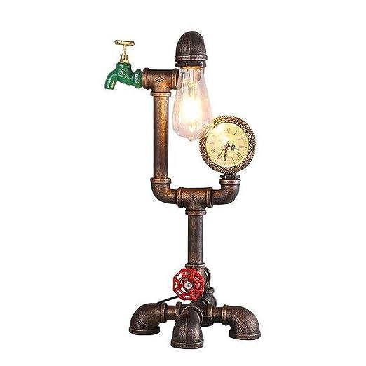 Mesas de sala supervivientes, lámpara de escritorio de tubería de ...