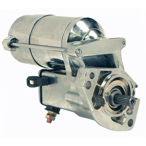 Chrome Harley Starter - DB Electrical SHD0009-C Chrome Starter For Harley Davidson 1989-Up 1340CC, 12 Volt, CW, 2.0KW /31558-90