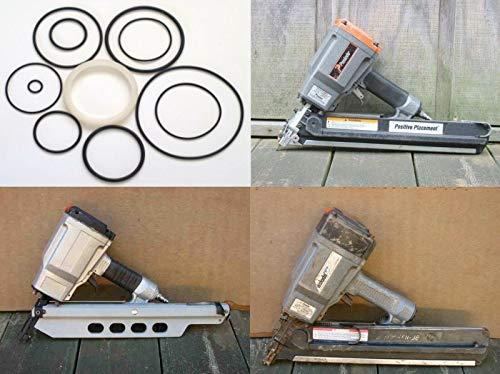 Rebuild Kit for Paslode Framing Nailer Orings + 402011 Kit All 5300 Series 5325/80 5350/90S PM,Part #: 404030, 403040, 402025, 404910, 1X0892 ()