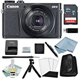 Canon G9x Mark II Digital Camera Bundle (Black) + Canon PowerShot G9 x Mark II Deluxe Accessory Kit - Including EVERYTHING You Need To Get Started