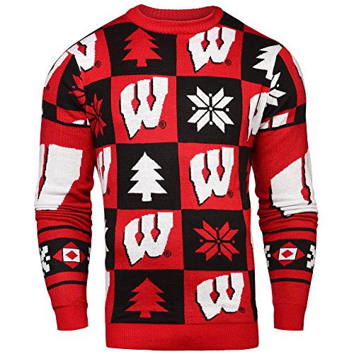 Wisconsin Badgers Ugly Christmas Sweater