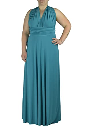 Von Vonni Transformer/Infinity Dress Plus Size XL-3X Sizes at Amazon ...