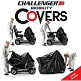 Challenger Cover for Mobility Equipment- Heavy Duty Light Vinyl - Scooter Large Size