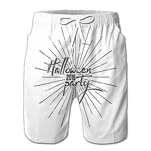 Summer Shorts Pants Halloween Party Label Holiday Photo Overlay Retro Mens Golf Sports Shorts XXL]()