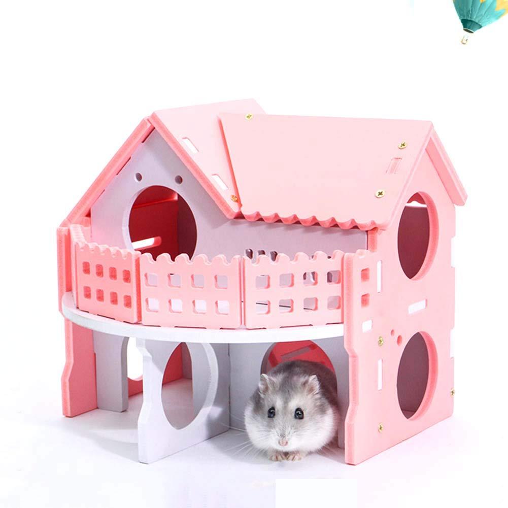 Kalaokei - Jaula de Madera para Mascotas (tamaño pequeño), diseño ...