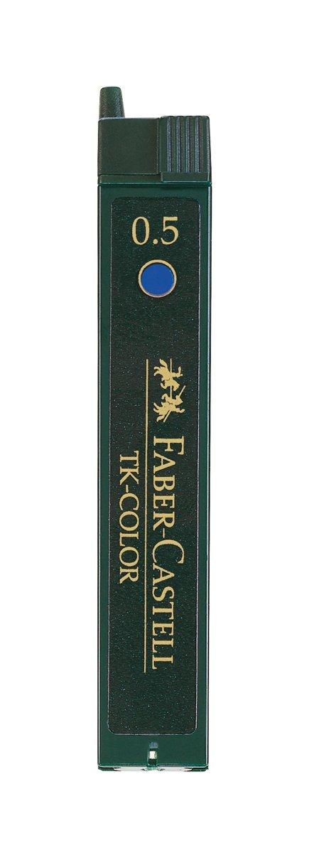 FABER-CASTELL TK-COLOR Farbfeinminen 9085-B, Farbe: blau 128544