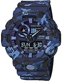 GA700CM-2A G-Shock Men's Watch Blue Camo 53.4mm Resin