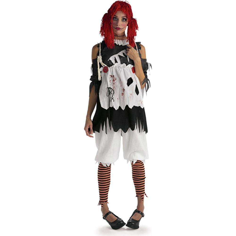 amazoncom rubies costume deluxe rag doll costume clothing