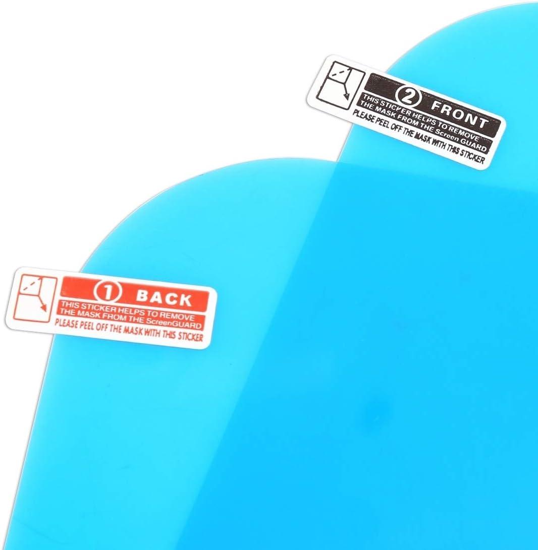 LLKKFF Side Car Mirror Accessoires Film de protection de fen/être de protection for r/étroviseur ANIMAL FAMILIER for camion Film pare-pluie imperm/éable anti-bu/ée Car Miroir Film de protection Rearview
