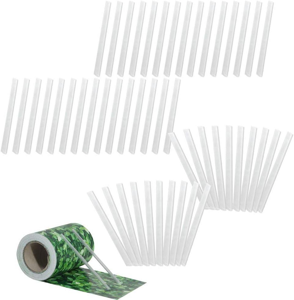 30 Pezzi Aufun PVC Strisce di Protezione Universale Strisce di serraggio per tapparelle Clip di Montaggio Antracite