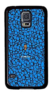 S5 Case, Galaxy S5 Case, Samsung Galaxy S5 Case - Hard PC Protective Be Different Stand Out Fun Case Black Cover Heavy Duty Protection Shock-Absorption / Impact Resistant Slim Case for Galaxy S5 / Galaxy SV / Galaxy S V / Galaxy i9600