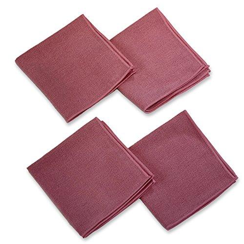 YogaRat Yoga Hand Towel Squre (4 Pack)