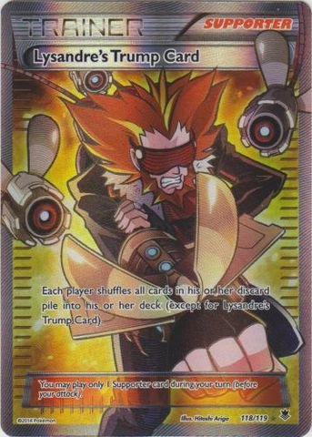 Pokemon - Lysandre39;s Trump Card (118/119) - XY Phantom Forces - Holo