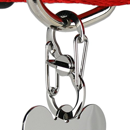 Pet-ID-Tag-Quick-Clip-Stainless-Steel-Strong-Durable-ID-Tag-Connector-for-Secure-Lock-Hold-or-Easy-Going-Exchange-Between-Pet-Collars