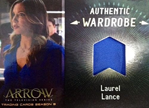 Laurel Lance Arrow Costume (ARROW SEASON 3 KATIE CASSIDY as LAUREL LANCE WARDROBE COSTUME CARD M07)