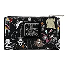 Loungefly X Nightmare Before Christmas Character Print Bi-Fold Wallet