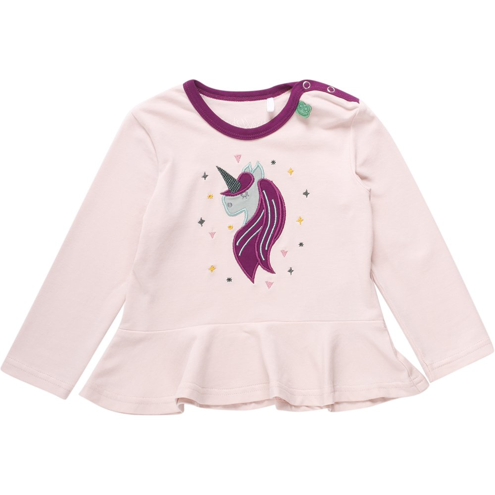Freds World by Green Cotton M/ädchen T-Shirt Unicorn Front T Baby