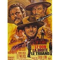 Le Bon Le Brute Le Truand reproduction photo affiche du film 40 x 30 cm