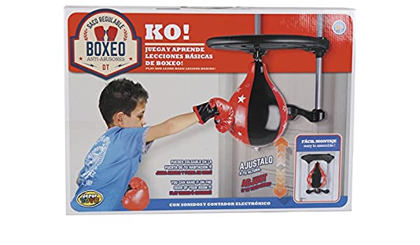 DIVERGARDEN Punching Ball Boxeo Regulable en Altura: Amazon.es ...