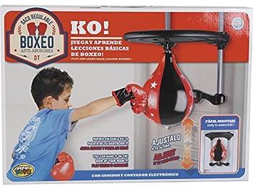 DIVERGARDEN Punching Ball Boxeo Regulable en Altura: Amazon ...