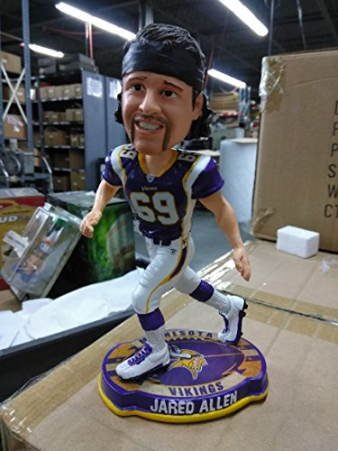 Minnesota Vikings Jared Allen Forever Collectibles Football Base Bobble Head by Forever Collectibles