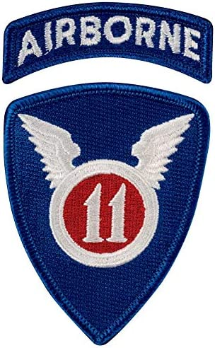 11th Airborne Division Dress Patch