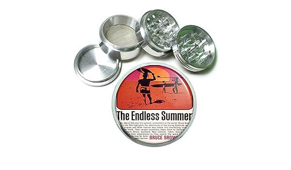 Amazon.com: Endless Summer Bruce Brown Surf 4Pc Aluminum Grinder D-399: Kitchen & Dining