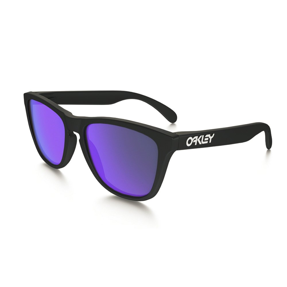 f3d143ad342 Oakley Mens Frogskins 24-298 Iridium Cat Eye Sunglasses
