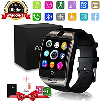 Amazon.com: Smart Watch, SN06 Smartwatch with Touch Screen ...