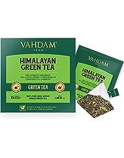 Tè verde in foglie dall'Himalaya (30 bustine) - 100% Tè naturale disintossicante e snellente, perfetto per perdere peso. Il miglior tè verde in foglie al mondo, confezionato direttamente in India