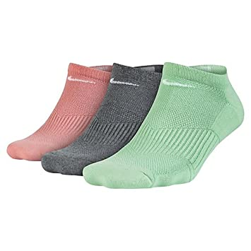 Nike W Nk Cush Ns 3Pr Calcetines, Mujer, Multicolor, S