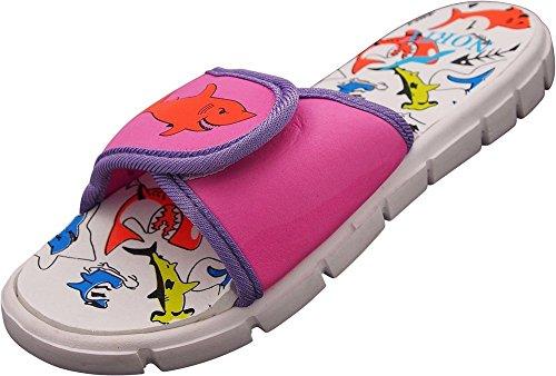 Pictures of NORTY - Toddler Girl's Shark Slide Adjustable 1