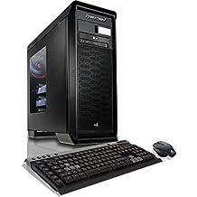 CybertronPC Titanium Z170 Gaming Desktop - Intel i5-6600K 3.5GHz Quad-Core Processor, 16GB DDR4 Memmory, 2x NVIDIA GTX 970 (4GB GDDR5) SLI Graphics, 500GB SSD, 2TB/8GB SSHD, Windows 10