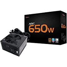 Rosewill Gaming Power Supply, Arc Series 650 Watt (650W) 80 PLUS Bronze Certified PSU with Silent 120mm Fan and Auto Fan Speed Control, 3 Year Warranty - ARC 650