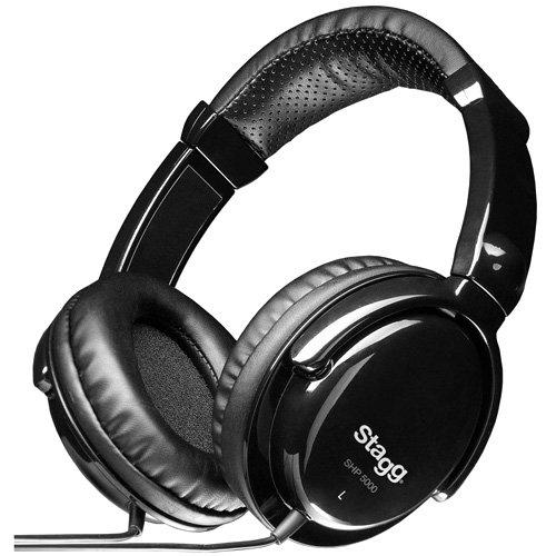 Stagg 25020176 SHP-5000H Pro DJ Standard Kopfhörer
