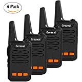 Greaval Walkie Talkie Long Range with Charger 16-Channel 2 Way Radio UHF 400~470 Mhz Walkie Talkies Rechargable Battery Included (Pack of 4)