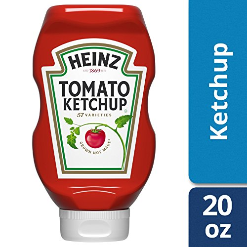 Heinz Tomato Ketchup, 20 ounce Easy Squeeze Bottle