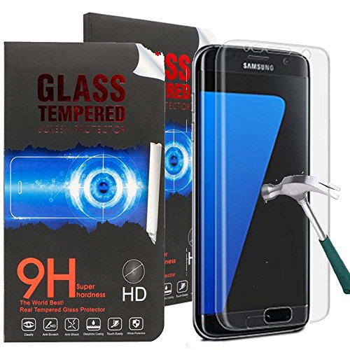 S7 Edge Screen Protector,Galaxy S7 Edge Screen Protector,Canica Galaxy S7 Edge Tempered Glass Screen Protector for Samsung Galaxy S7 Edge (1 Pack)